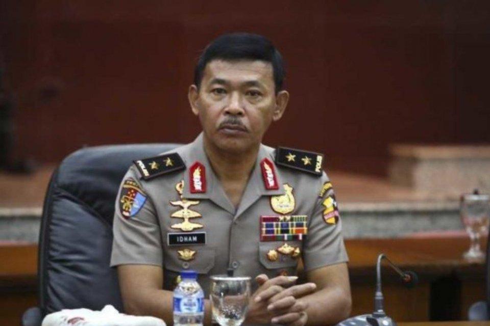 kabinet indonesia maju, calon tunggal kapolri, idham azis, pengganti tito karnavian, profil idham azis, kabinet jokowi