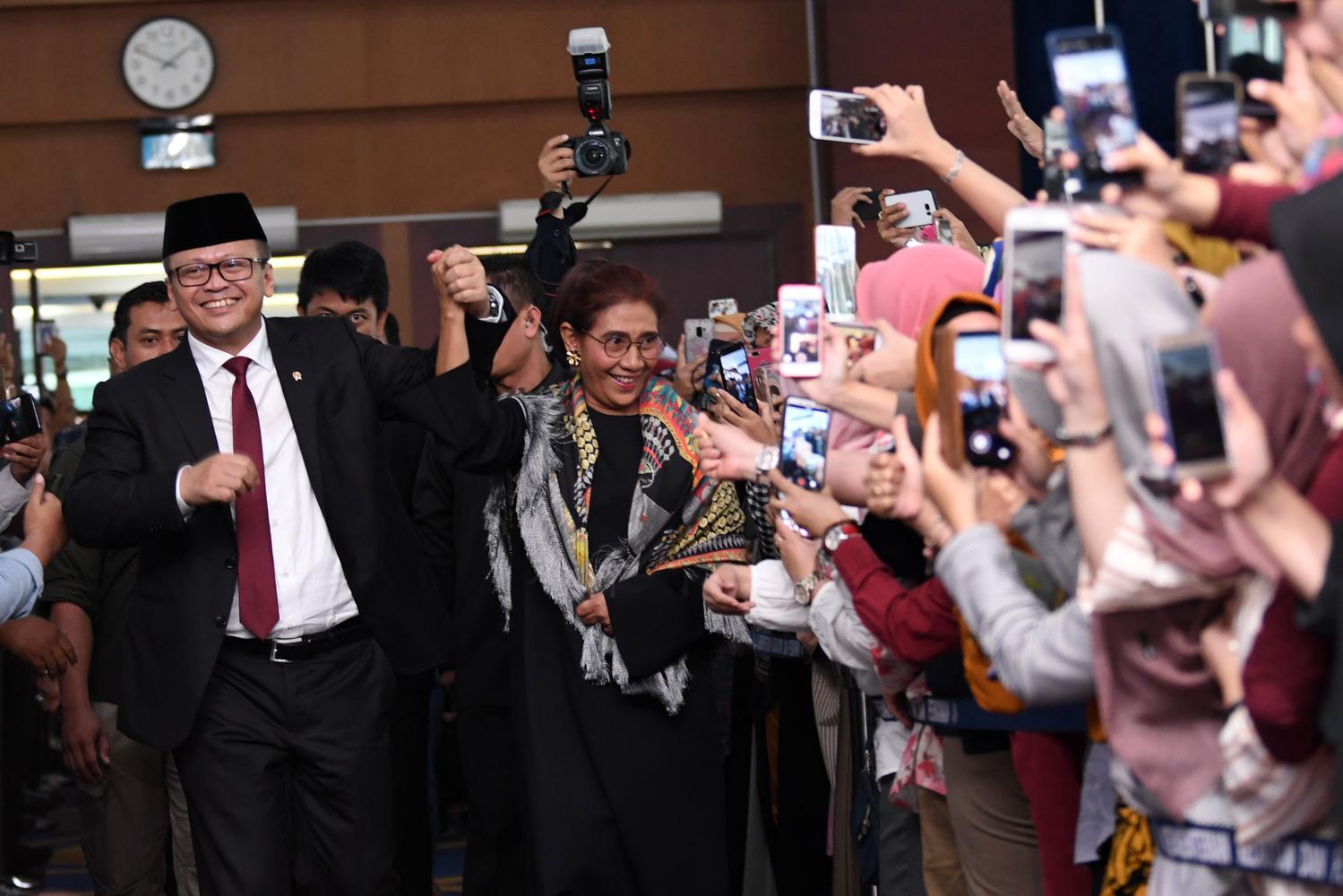 Susi Pudjiastuti, Edhy Prabowo