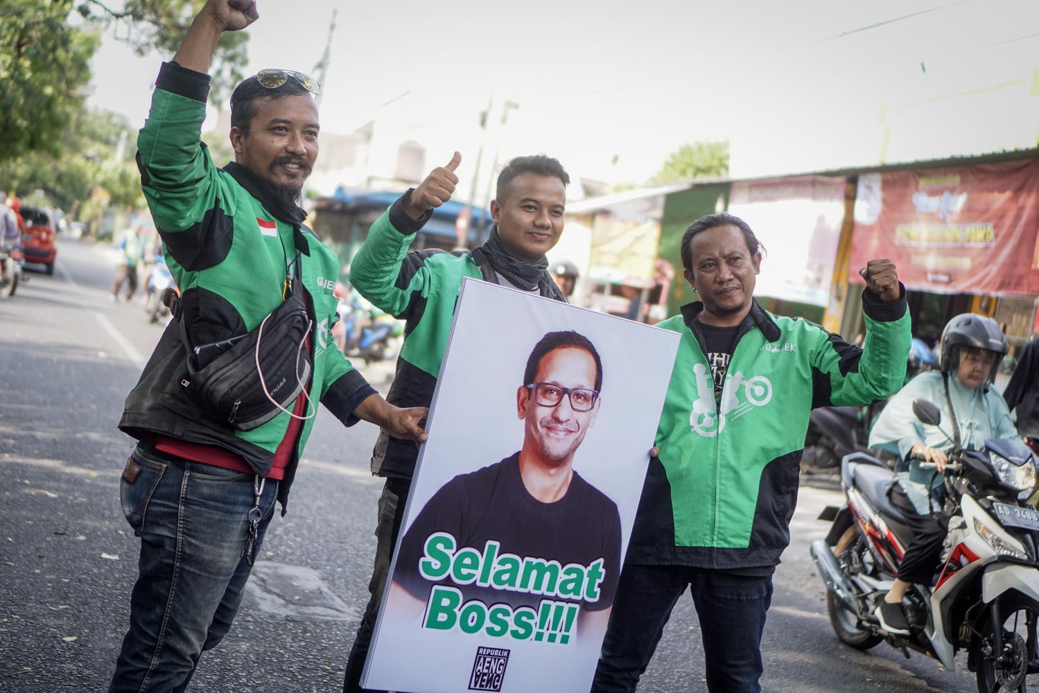 Gojek, Bom Medan, Teroris medan