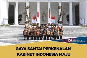 Gaya santai kabinet indonesia maju