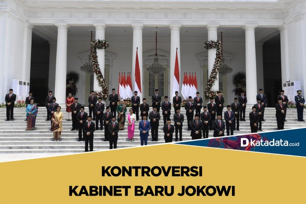 Kontroversi kabinet baru jokowi