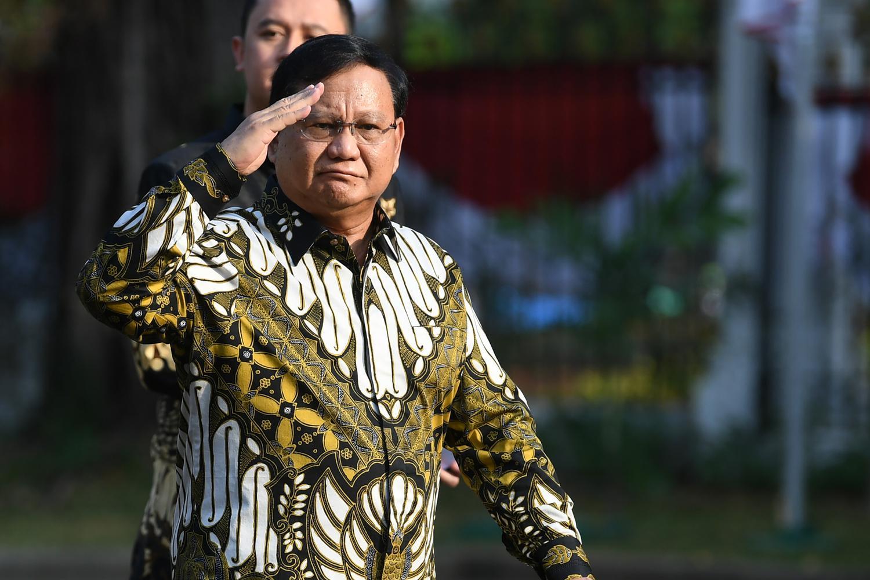 Prabowo, Menteri pertahanan, Kabinet jokowi