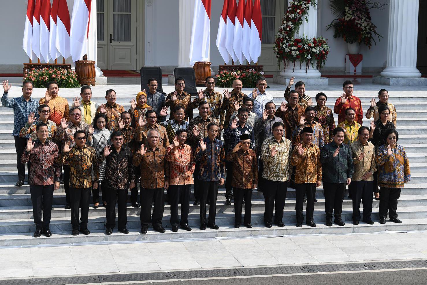 Image result for kabinet indonesia maju