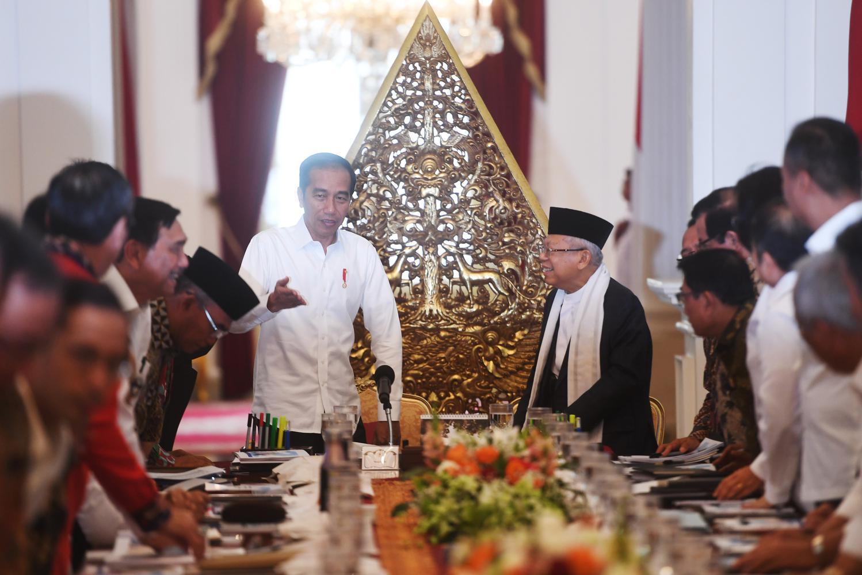 hak veto, Jokowi, Menko