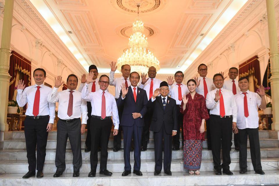 wakil menteri, wakil menteri pendidikan, wakil panglima TNI, Nadiem Makarim, Jokowi, kabinet baru jokowi, kabinet indonesia maju