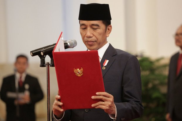 gelar pahlawan, Jokowi