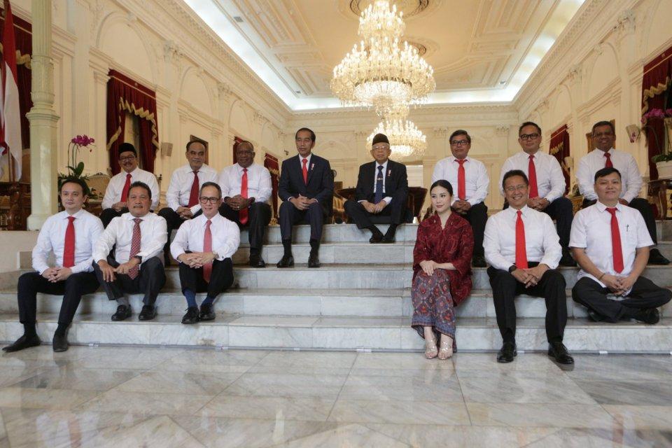 kabinet jokowi maruf, kabinet indonesia maju, partai pendukung jokowi,