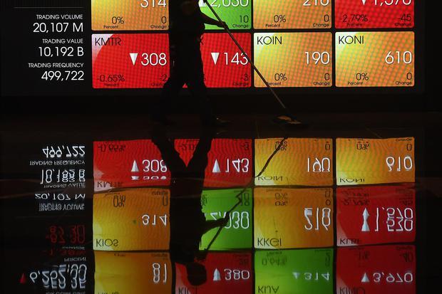 Investor asing beli saham Rp 64 Miliar, IHSG ditutup naik 0,48%