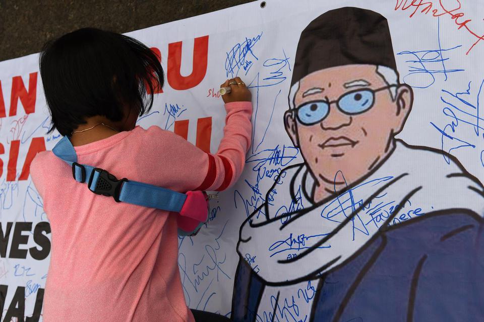 Dukungan Ma'ruf Amin Agar Bank Muamalat Tetap Beroperasi