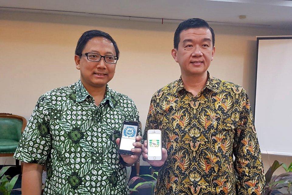 Rektor Universitas Katolik Indonesia (Unika) Atma Jaya Jakarta, Dr A Prasetyantoko dan CEO Knowledge Catalyst, Rudy Rahardjo meluncurkan program microlearning dengan topik pembahasan \\\