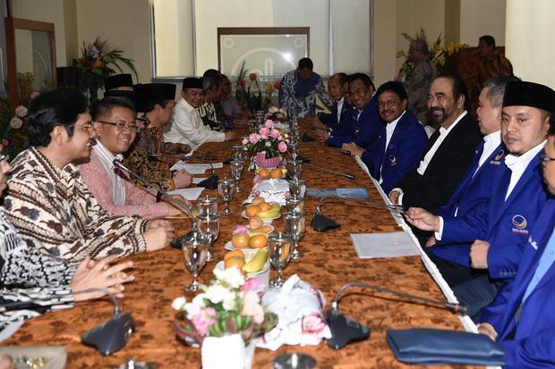 Jokowi, Nasdem, surya paloh,PKS