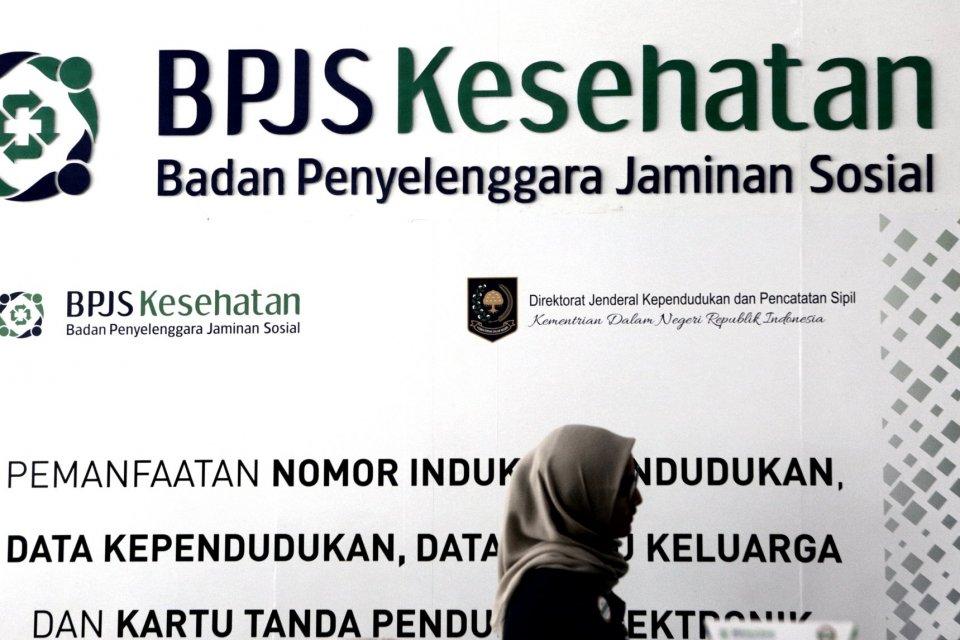 Ilustrasi jegiatan di kantor BPJS Kesehatan, Jakarta (31/10/2019). Pemerintah resmi menaikkan iuran program Jaminan Kesehatan Nasional (JKN) yang dikelola Badan Penyelenggara Jaminan Sosial (BPJS) Kesehatan pada tahun depan, besaran iuran yang harus dibay