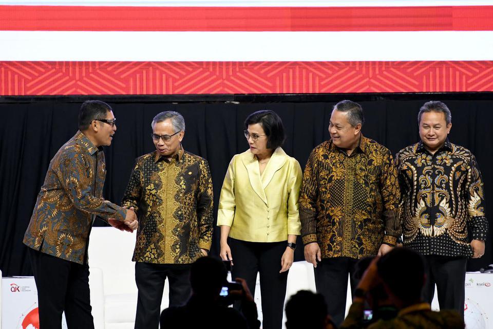 KSSK yang terdiri dari Menkeu, Gubernur BI, Ketua DK OJK dan Ketua DK LPS menyimpulkan stabilitas sistem keuangan Indonesia triwulan III 2019 masih terkendali