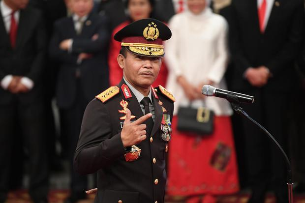 Idham Azis ditetapkan menjadi Kapolri menggantikan Tito Karnavian yang diangkat menjadi Mendagri.