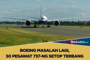 Boeing setop terbang