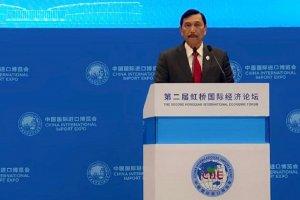Luhut dalam Pameran China International Import Expo (CIIE)