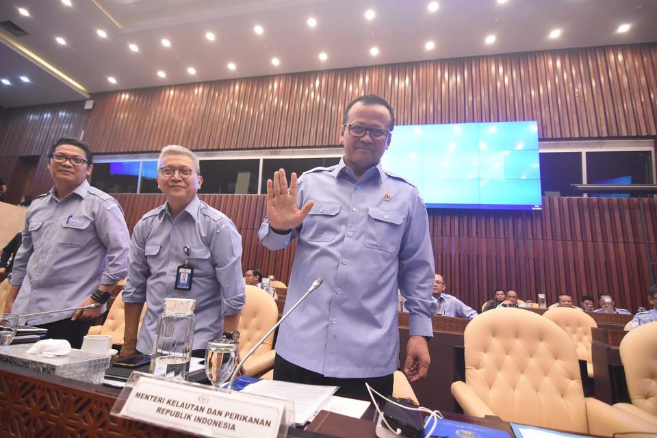 Angkat 22 Pejabat KKP, Menteri Edhy Tak Mau Ada Kebijakan Balas Dendam.