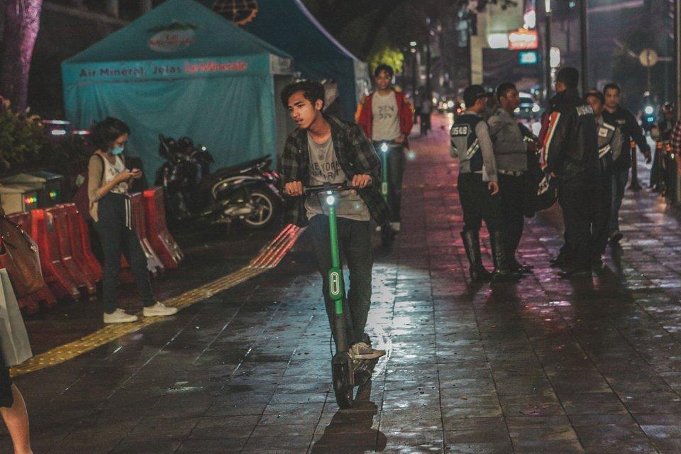 Kemenhub berharap aturan terkait skuter listrik atau grabwheels selesai pekan depan
