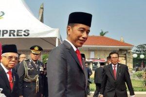Presiden Joko Widodo dan Wakil Presiden Ma'ruf Amin