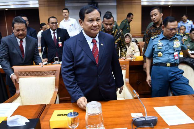 Prabowo, Menhan Prabowo, Anggaran Kemenhan, DPR