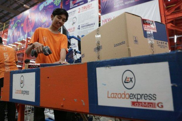 Pesta Diskon Lazada, Produk Fesyen dan Ponsel Paling Laris Terjual.