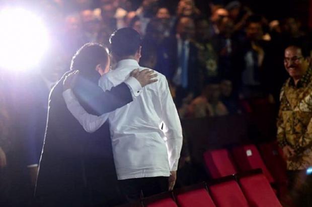 Jokowi dan Surya Paloh