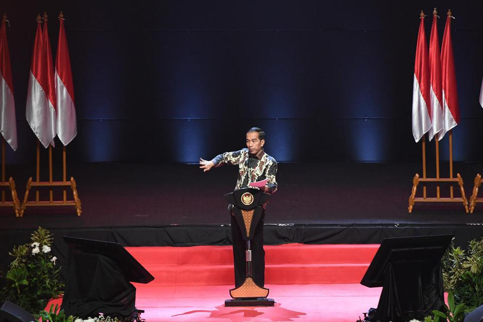 Jokowi, Investasi, izin investasi, defisit neraca dagang