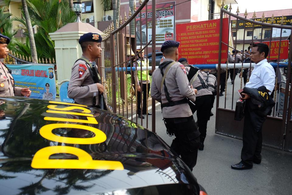 Bom Bunuh Diri Mapolrestabes Medan, Polisi Duga Pelaku Satu Orang
