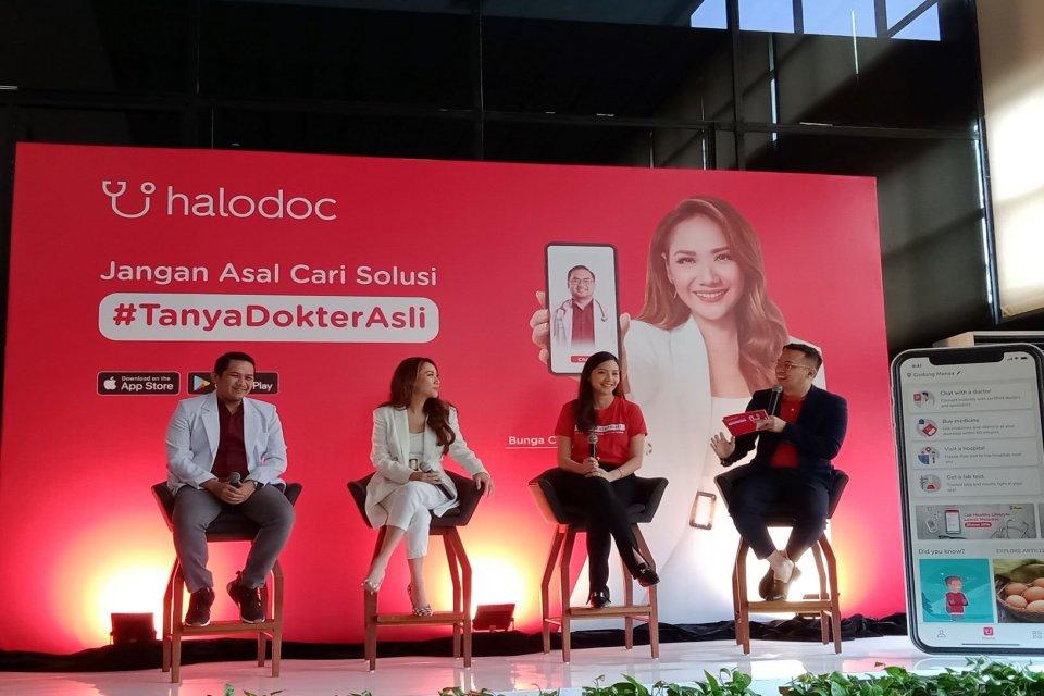 Halodoc, startup kesehatan, hoaks kesehatan, BCL, kampanye #TanyaDokterAsli