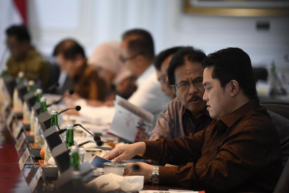 Erick Thohir, BUMN, Kementerian BUMN, Perombakan Kementerian BUMN