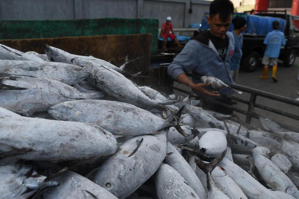 KKP Lepas Ekspor Produk Perikanan Rp 13,3 Miliar ke Sejumlah Negara.