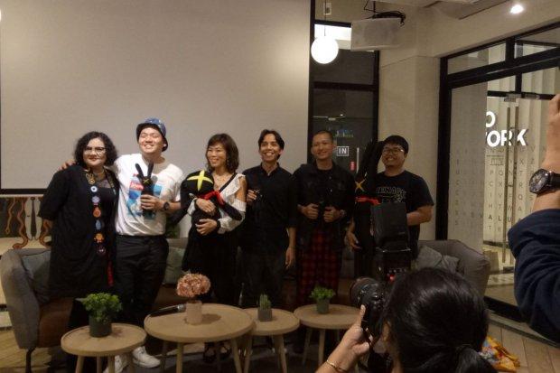 Show the Monster, CIAYO Comics, ilustrator Indonesia, GoWork, coworking space, pameran seni, monster, desain karakter, industri kreatif