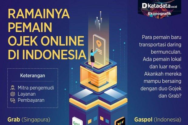 Pemain ojol di Indonesia