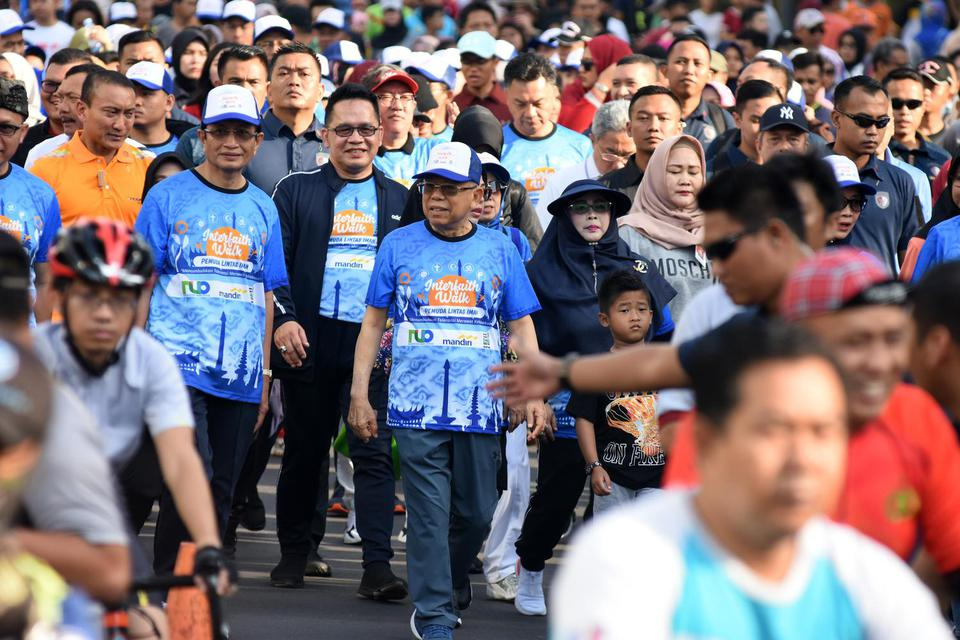 Jaga Kerukunan, Ma'ruf Amin Minta Penceramah Sudahi Narasi Konflik