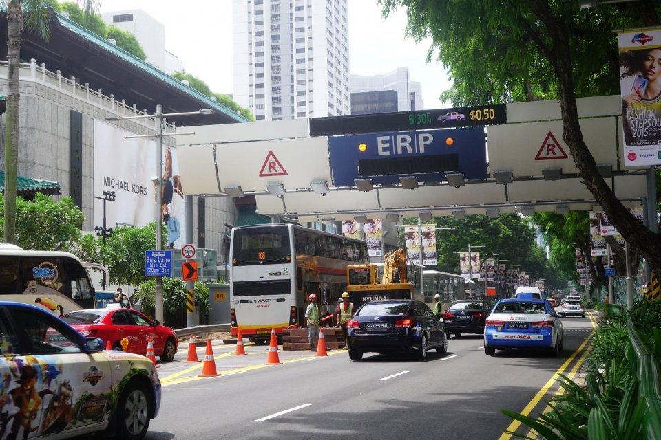 kebijakan penerapan erp, erp di singapura, cara pembayaran erp, lokasi jalan berbayar, aturan jalan berbayar, bisnis jalan berbayar