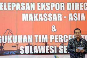 PELEPASAN EKSPOR DIRECT CALL MAKASSAR-ASIA