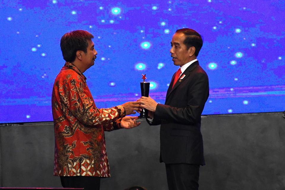 Jokowi, Penghargaan Pertambangan, IMA 2019, Indonesian Mining Awards 2019
