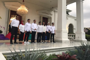 Pengumuman staf khusus presiden.