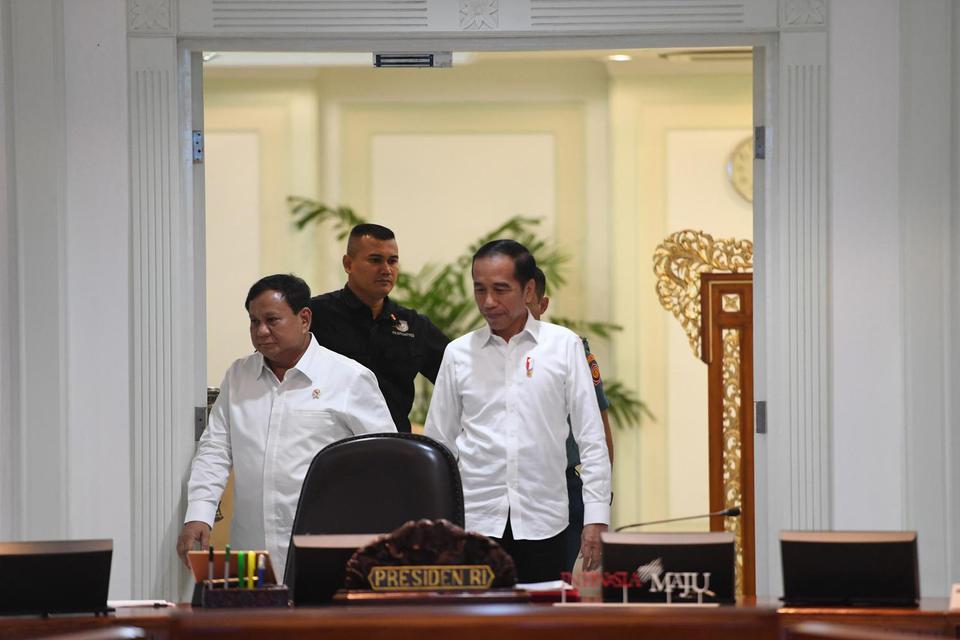 Prabowo, Jokowi, anggaran alutsista