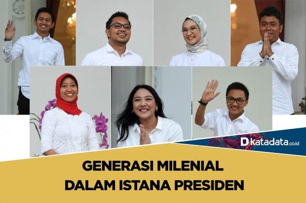 Generasi milenial di istana presiden