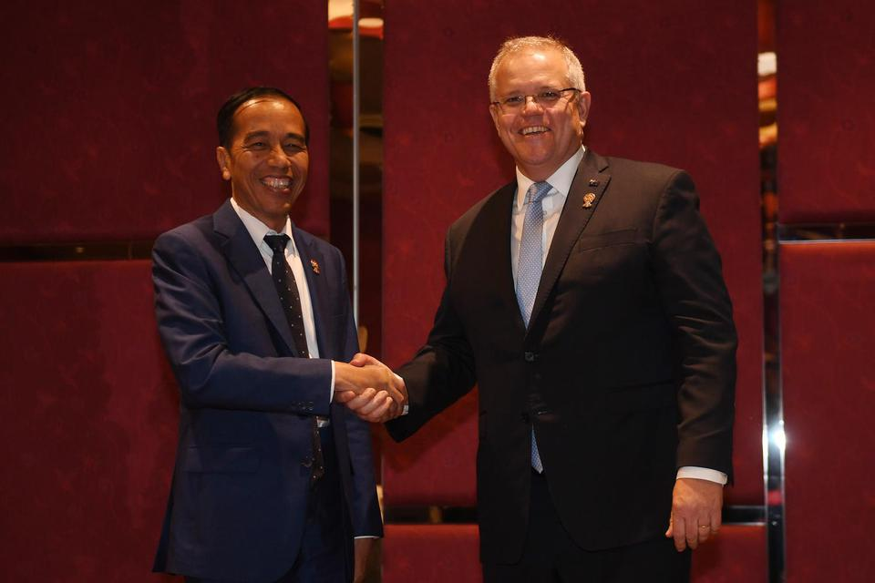 kerja sama perdagangan Indonesia-Australia, IA-CEPA diratifikasi, Jokowi tandatangani perjanjian dagang dengan Australia, bea masuk nol persen produk Indonesia, poin-poin kerja sama dagang Indonesia-Australia