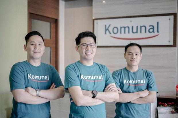 Modal ventura, East Ventures pimpin pendanaan tahap awal (seed funding) di perusahaan teknologi finansial pembiayaan (fintech lending), Komunal