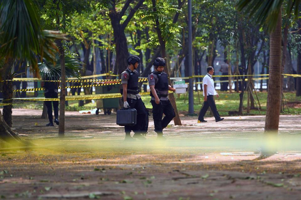 Ledakan Monas, Granat Monas, Jokowi