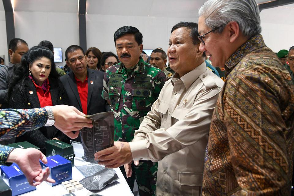 Prabowo Subianto, Menteri Pertahanan, ledakan monas