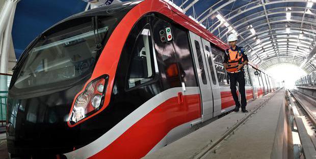 ADHI Pembangunan LRT Jabodebek Capai 68 Persen, Uji Coba Kereta Diperluas - Berita Katadata.co.id