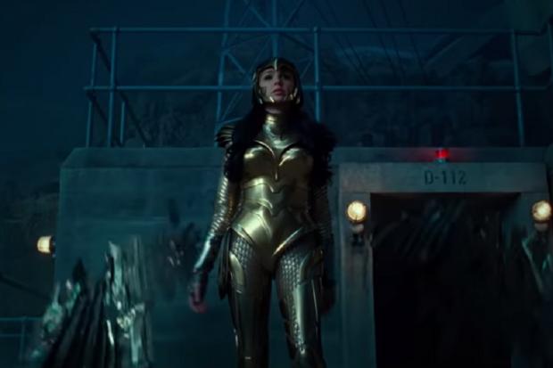 Gal Gadot dalam Wonder Woman 1984.