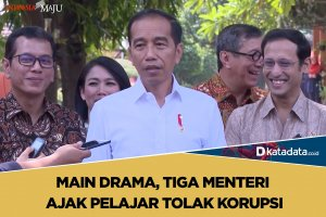 Menteri main drama