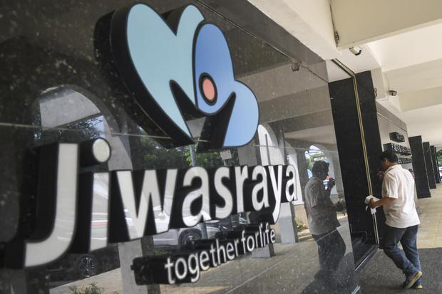 Ilustrasi, logo PT Asuransi Jiwasraya. Nasabah Jiwasraya belum menerima tawaran restrukturisasi polis yang dijanjikan pemerintah.
