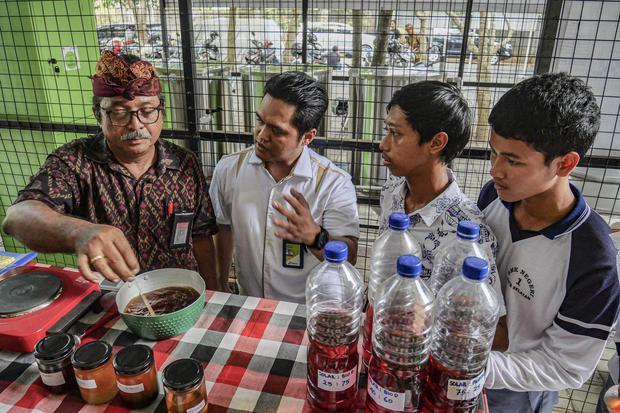 biodiesel, BBN, kelapa sawit, munyak jelantah