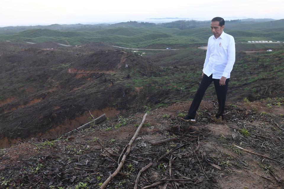 ibu kota baru, Jokowi, utang